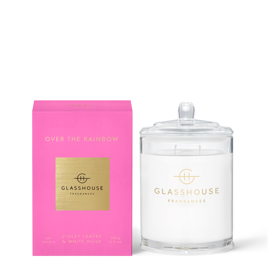GLASSHOUSE | OVER THE RAINBOW - 380G CANDLE