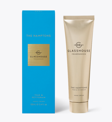 GLASSHOUSE | THE HAMPTONS - 100ML HAND CREAM