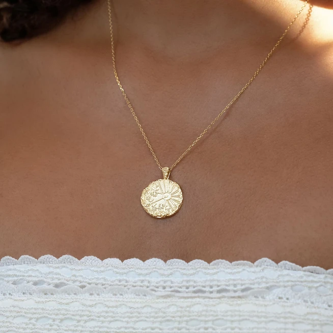 BY CHARLOTTE | GOLD SAGITTARIUS NECKLACE