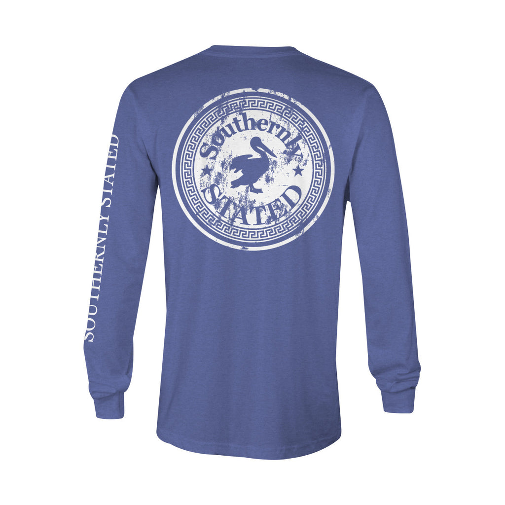 Classic Distressed Logo Long-Sleeve