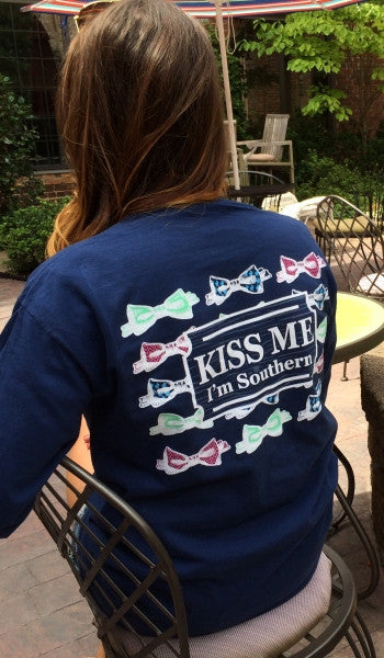 Kiss Me, I'm Southern Long Sleeve