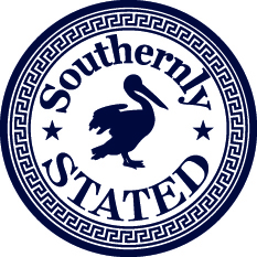 Southerly Stated Logo Sticker