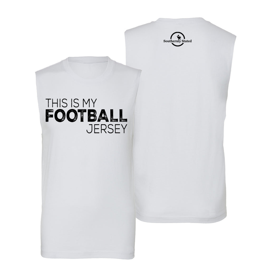 This Is My Football Jersey Muscle Tank