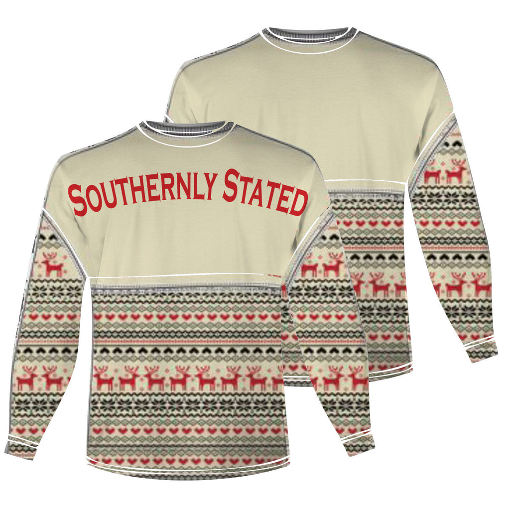 Ugly Christmas Sweater Spirit Jersey