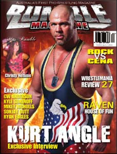 Australian Rumble Magazine, Issue #2, 2011