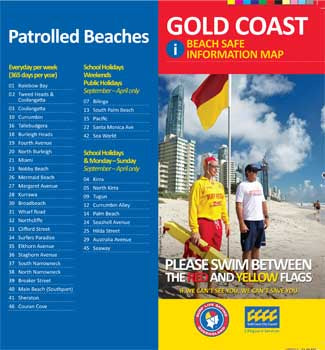 SLSQ Beach Safety Brochure Feb 2011