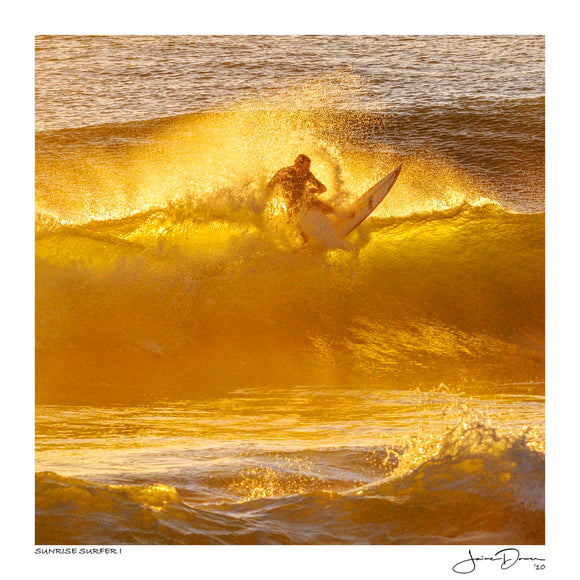 Sunrise Surfer I