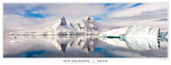 Ice Islands Poster