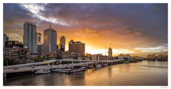 Brisbane City Sunrise II