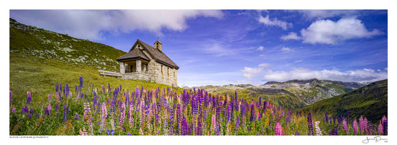 Alpine Lavendar & Church II