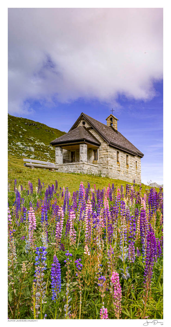 Alpine Lavendar Church II