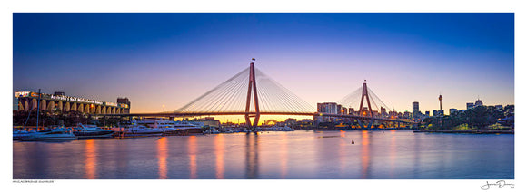 Anzac Bridge Sunrise I