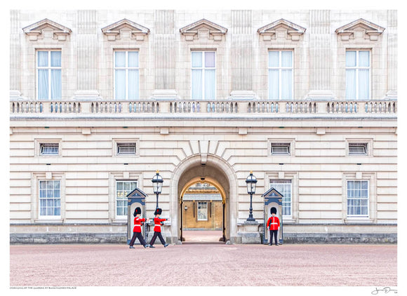 Changing of the Guards at Bukingham Palace