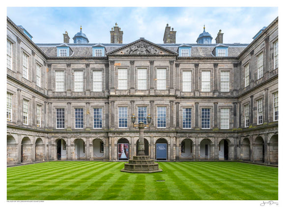 Palace of Holyroodhouse Courtyard