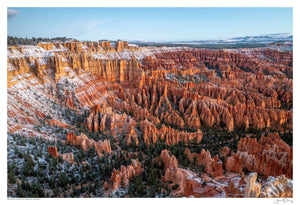 Autumn Snow on Bryce Canyon