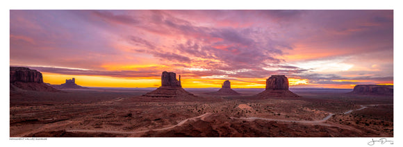 Monument Valley Sunrise II