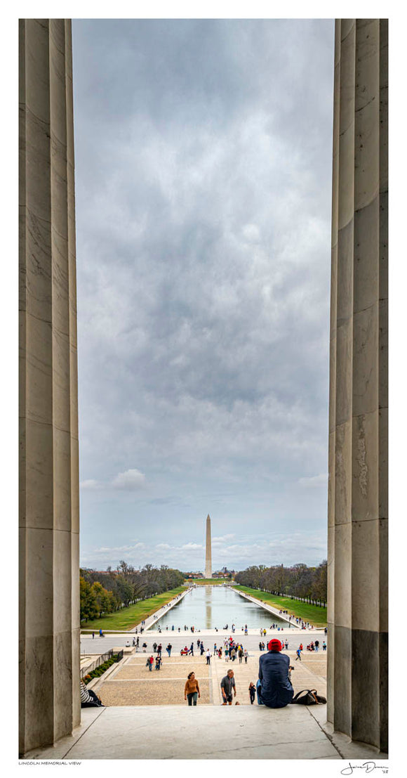 Lincoln Memorial View