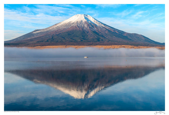 Reflections of Mount Fuji