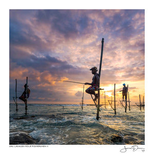Sri Lankan Pole Fishermen II