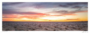 Lake Eyre Sunset