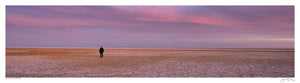 Alone on Lake Eyre