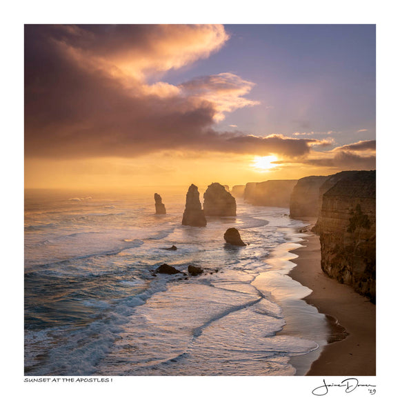 Sunset at the Apostles I