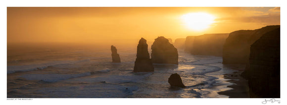 Sunset at the Apostles II