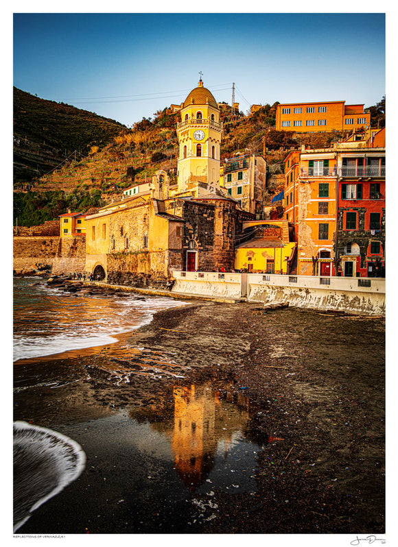 Reflections of Vernazza I