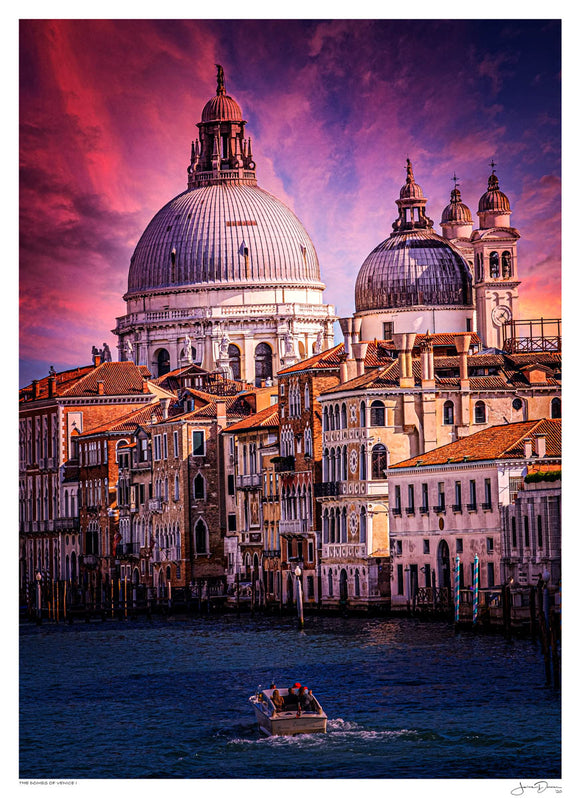 The Domes of Venice I