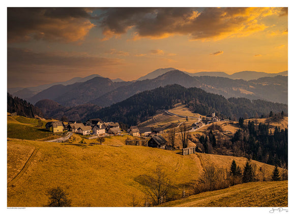 Slovenian Sunset