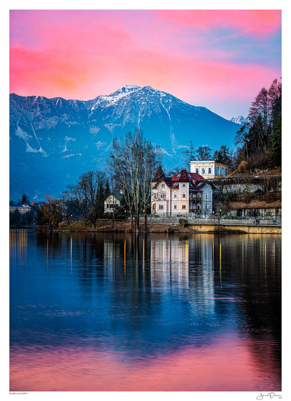 Bled Sunset I