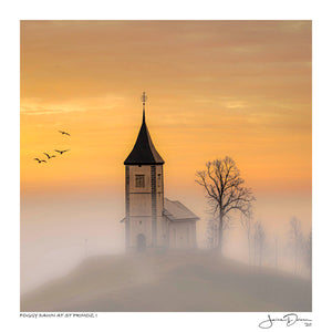 Foggy Dawn at St Primoz I