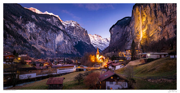 Lauterbrunnen Twilight II