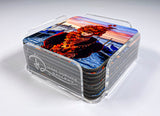 Acrylic Coaster Holder Only (Holds 8 Coasters)
