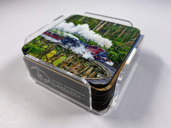 Steam Trains #1 Coasters (Set of 8)