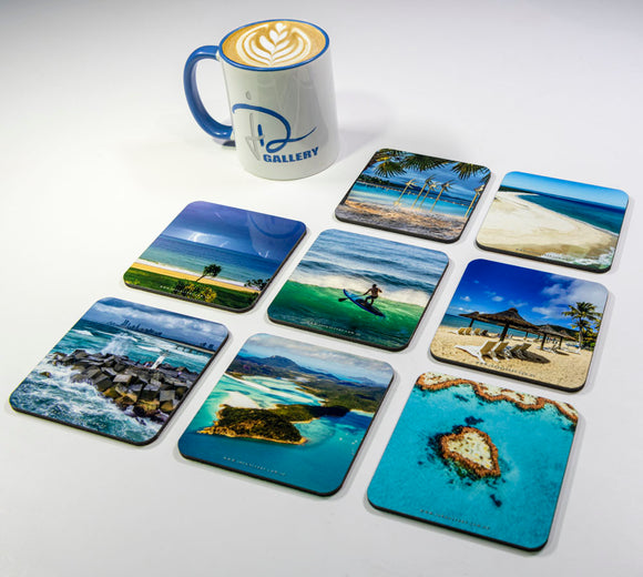 Seascapes #1 Coasters (Set of 8)