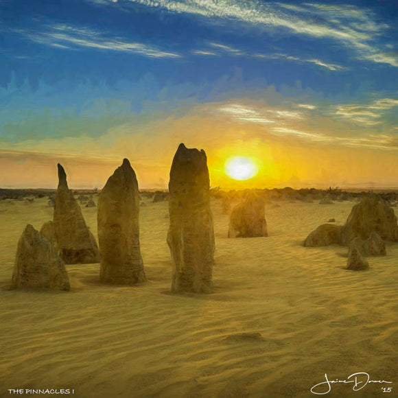 The Pinnacles I