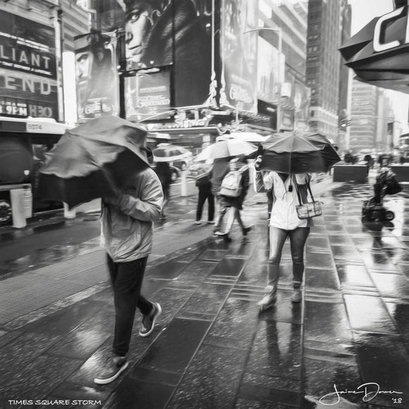 Time Square Storm