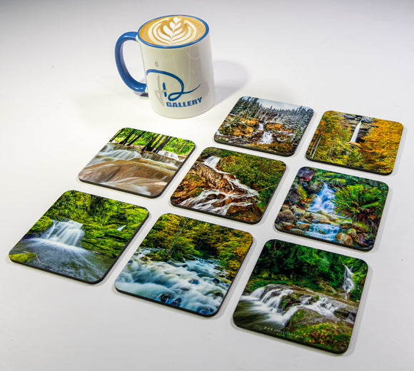 Waterfalls #1 Coasters (Set of 8)
