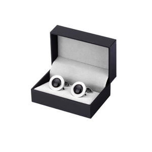Black Agate Cufflinks
