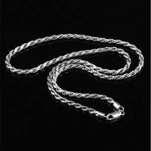 Mens Diamond Rope Chain