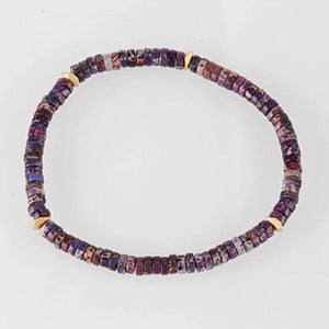 Purple Passion Stonework Bracelet