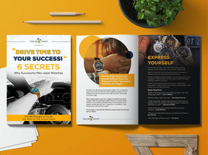 FREE Digital Download - Six Secrets To Drive Time To Your Success