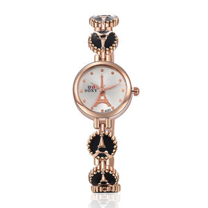 Golden Eiffel Tower Watch