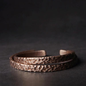 Little Red Copper Bracelet
