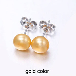 Cultured Pearl Studs