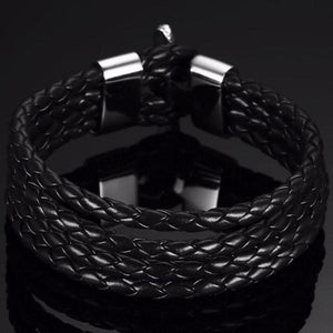 Quad Braided Wrap Bracelet