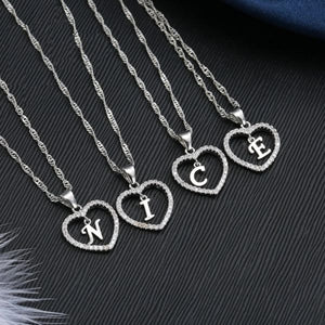Romantic Letter Necklace