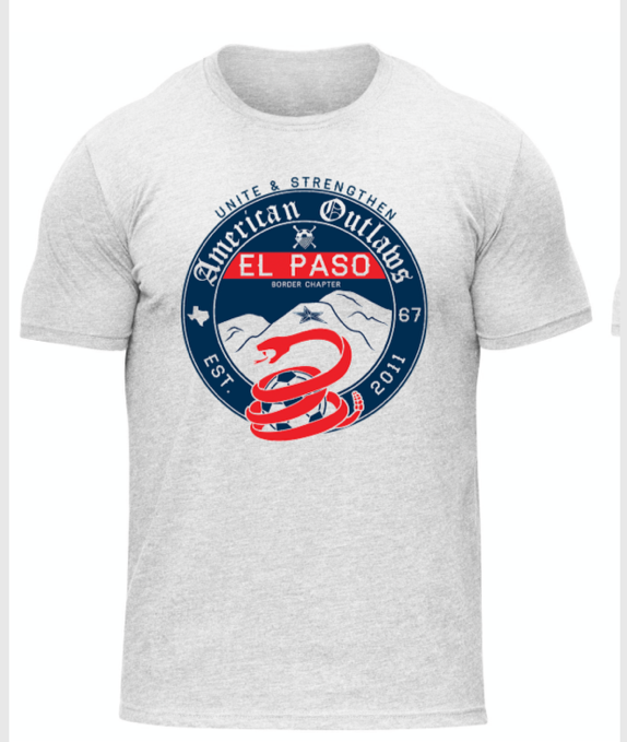 American Outlaw - T-Shirts - El Paso Apparel