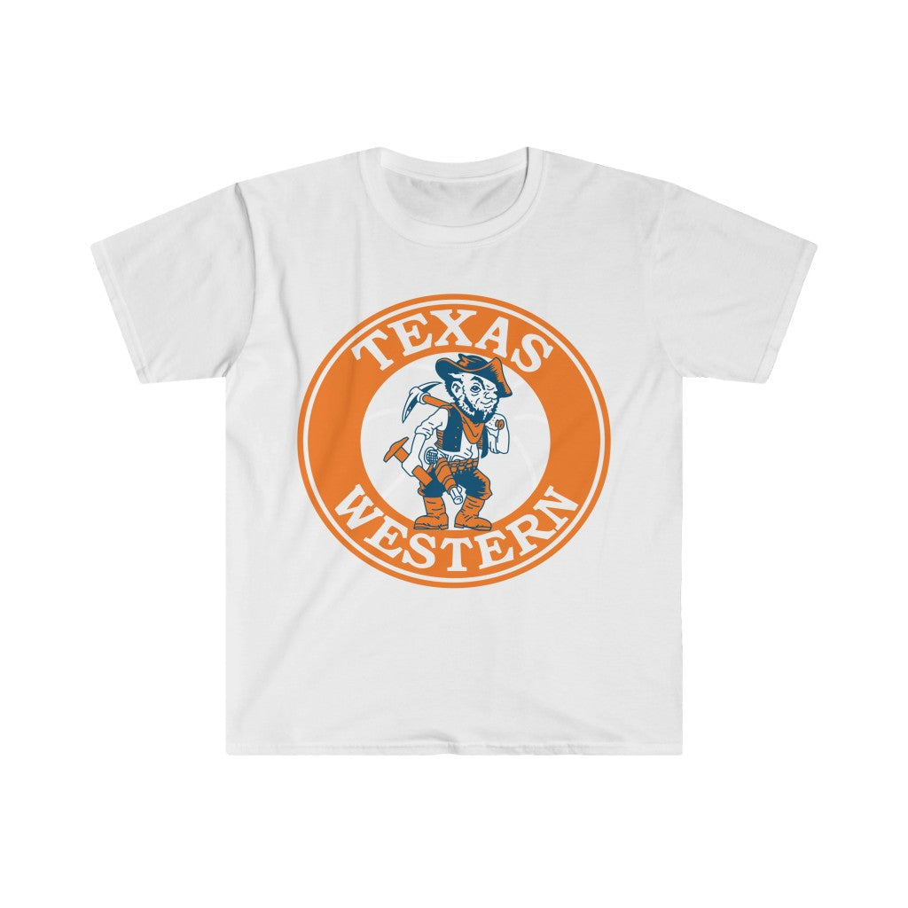 1966 Champion Edition Texas Western - Men's Fitted Short Sleeve Tee